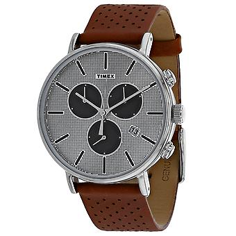 Timex Men's Classic Grey Dial Watch - TW2R79900
