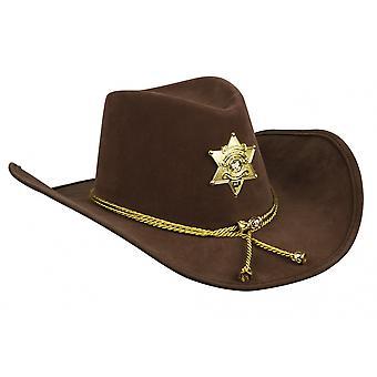 Cowboy hat South Dakota Men's Brown