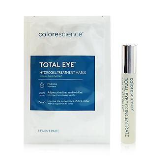 Total eye concentrate kit: concentrate 8ml + hydrogel treatment masks 12pairs 259286 13pcs