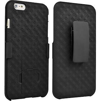 Verizon Combo caso recubierto de goma carcasa/funda de iPhone 6 Plus / 6s más