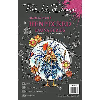 Pink Ink Designs Clear Stamp Henpecked A5