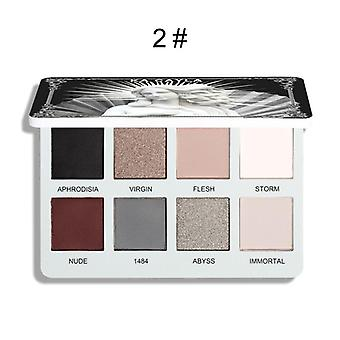 Matte Eye Shadow Palette, Makeup Kit, Shiny, Waterproof, Metallic, Diamond,
