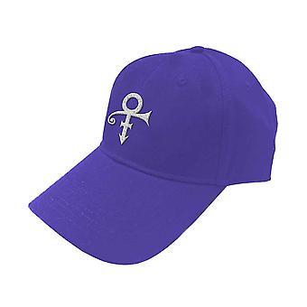 Prince Baseball Cap White Symbol new Official Purple Unisex