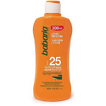 Babaria Leche Protector Solar Aloe F-25 300 ml