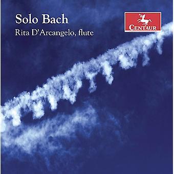 Bach J.S. / D'Arcangelo - Solo Bach [CD] USA import