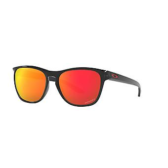 Oakley Manorburn OO9479 06 Polished Clear/Prizm Sapphire Sunglasses