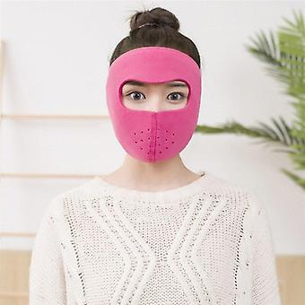 Earflap Cycling Full Face Mask, Dustproof Ear Thickness Face-mask