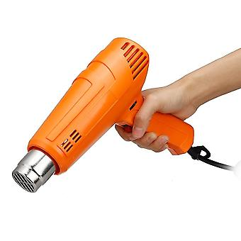 220V heat gun 2000w variable advanced electric hot air gun with four nozzle attachments power adjustable temperature