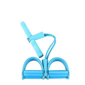 Trainingsband mit Fußstütze und Griff Blue