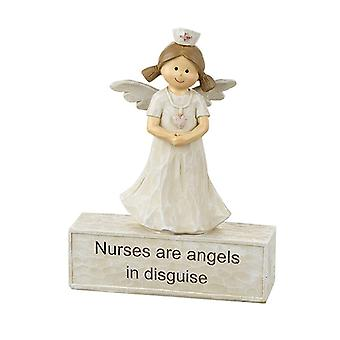 Heaven Sends Nurse Angel Ornament