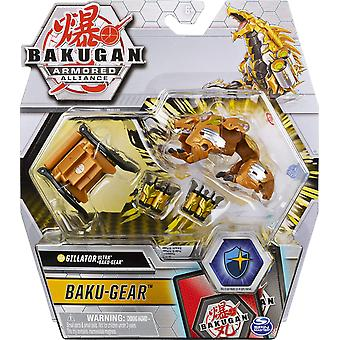 Bakugan Armored Alliance 3-inch Tall Collectible Action Figure (1 Random Supplied)
