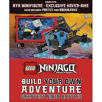 LEGO NINJAGO rakentaa oman seikkailun suurimmista Ninja taisteluista