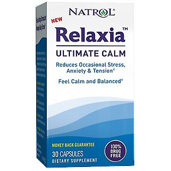 Natrol Relaxia Ultimate Calm Supplement 30 Capsules