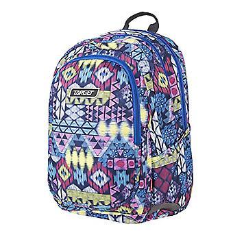 Target 3 Zip, Aztec Backpack, 600d PVC, 24 L Unisex-Adult, Multicolored (Mehrfarbig), 41 cm