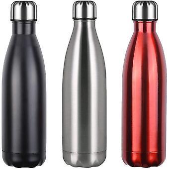 FengChun Thermobecher,750ml Vakuum Wasserflasche Trinkflasche Auslaufsicher Kaffeebecher,