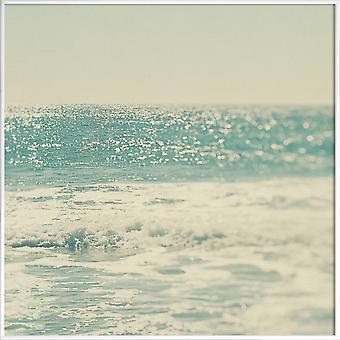 JUNIQE Print - Swim - Oceaner, Have og Søer Plakat i Blå & Turkis