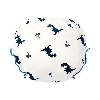 2Pcs ديناصور 100cm لسراويل القطن 14-16kg، حديث الولادة أزياء الطفل السراويل حفاضات قابلة للغسل، طفل تدريب السراويل az20676