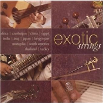 Płyta CD z egzotycznymi strunami