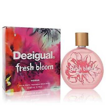 Desigual Fresh Bloom Av Desigual Eau De Toilette Spray 3.4 Oz (kvinner)