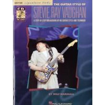 The Guitar Style of Stevie Ray Vaughan by Wolf Marshall