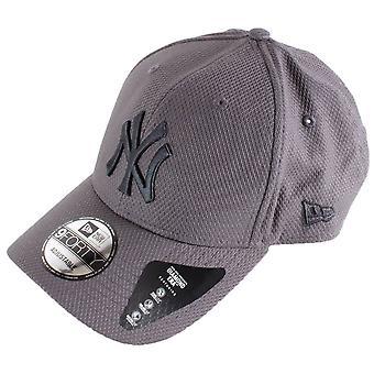 New Era 9FORTY Diamond Era Essential New York Yankees Cap - Grafiitti Harmaa/Valkoinen
