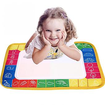 Baby Water Drawing Painting Writing Mat Board & Pens Doodle Games Kids Toys