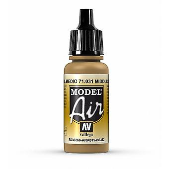 Vallejo Model Air 31 Middle Stone - 17ml Acrylic Airbrush Paint