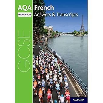 AQA GCSE French: Key Stage� Four: AQA GCSE French Foundation Answers & Transcripts (AQA GCSE French)