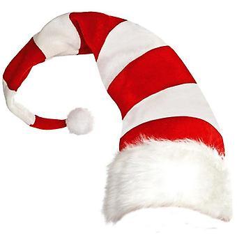 1Pc מצחיק המפלגה כובעים כובעי חג המולד פסים ארוכים לבד קטיפה כובע שדון נושא כובעים אביזר מסיבת חג המולד