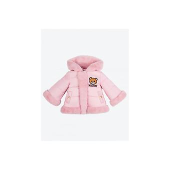 Moschino Baby Cosy Faux Hooded Coat
