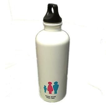 "SIGG Drinking Bottle White 500ml Mum Dad and Child - Model: ""Mum+1 No.6"" 8844.7"