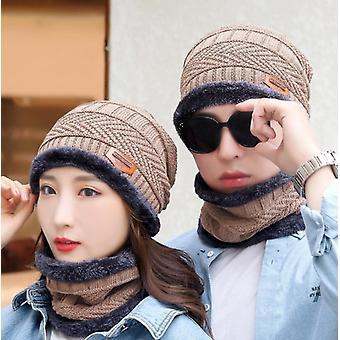 Zimný klobúk Beanie pre mužov pletený klobúk
