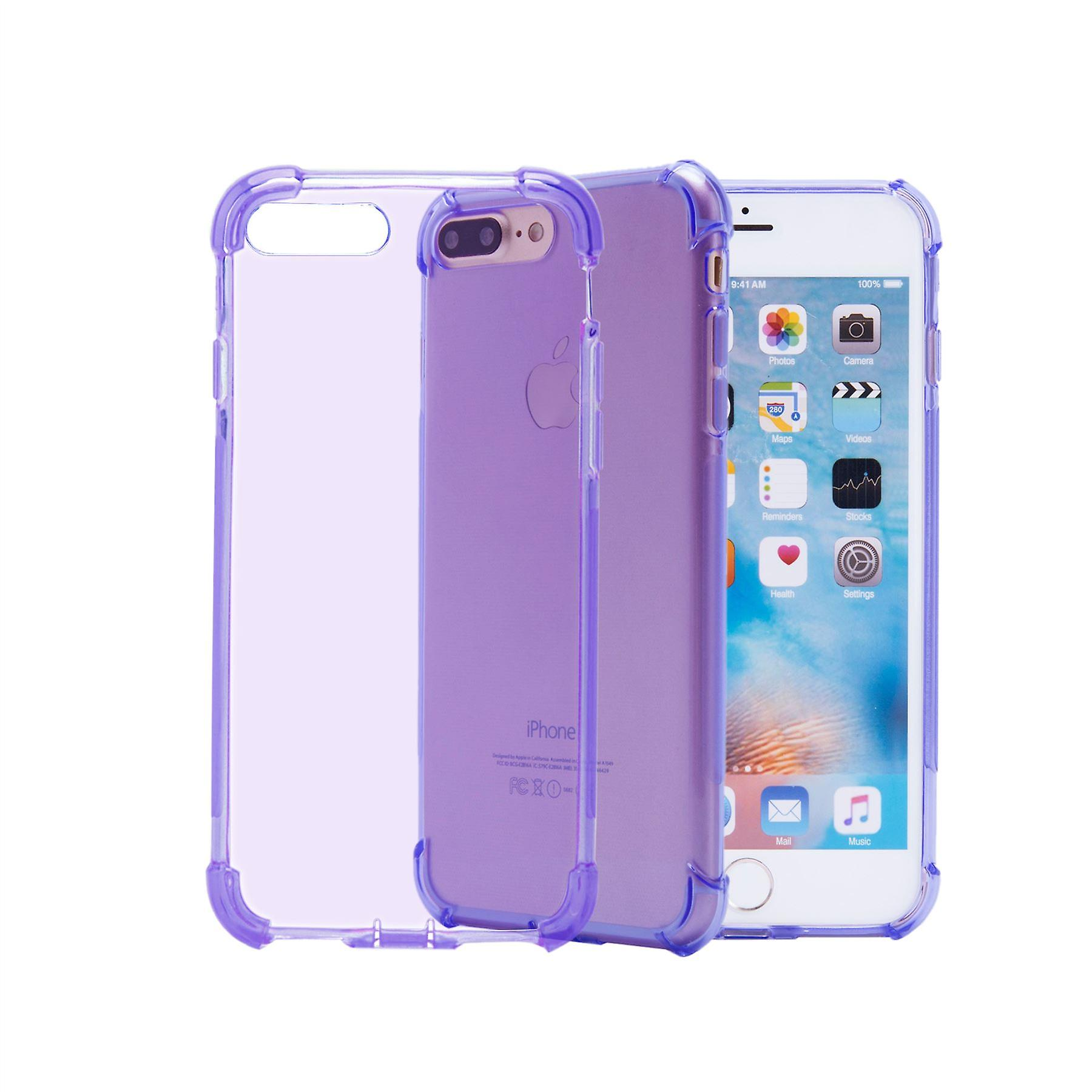32nd Tough Gel case + stylus for Apple iPhone 7 Plus   / iPhone 8 Plus  - Purple
