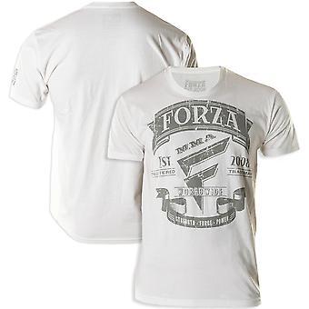 """Forza Sports """"Origins"""" MMA T-Shirt - White"""