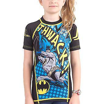 Fusion Kampf Gear Kid Batman Thwack Kurzarm Rashguard