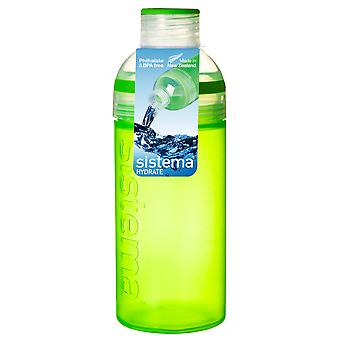 Sistema Trio Drink Bottle 580ml, Green