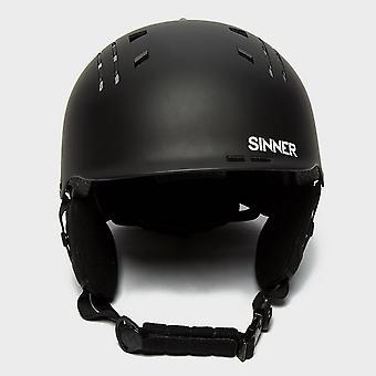 New Sinner Men's Pincher Snowsports Ski Helmets Snowsports Black