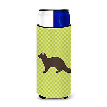 Sable Marten Green Michelob Ultra Hugger for slim cans