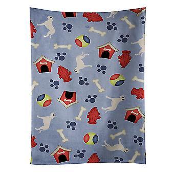 Догов собака дом коллекции кухонных полотенец