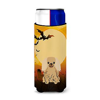Halloween Pekingnese Fawn Sable Michelob Ultra Hugger for slim cans