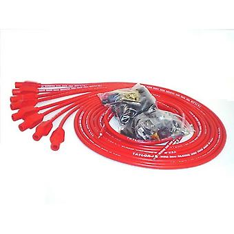 Taylor Cable 70254 Red Universal Fit 8mm TCW Pro-Wire Ignition Wire Set