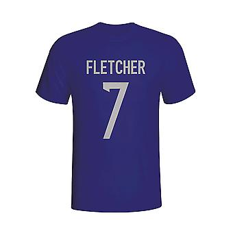 Darren Fletcher Schottland Hero T-shirt (Navy) - Kids