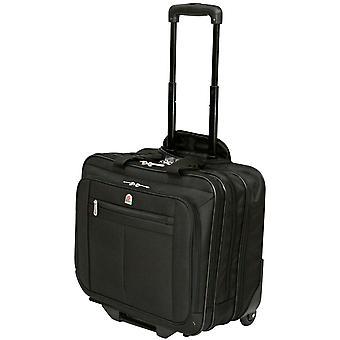 Исполнительный ноутбук сумка ролик колесных экспериментальные случае портфель на ночь & отделение для ноутбука 15