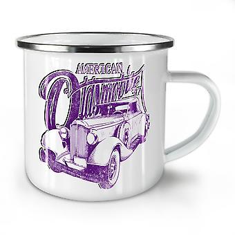 American Oldsmobile Car NEW WhiteTea Coffee Enamel Mug10 oz | Wellcoda
