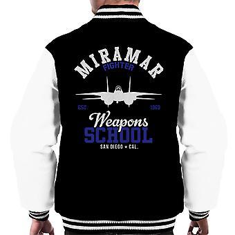 Top Gun Miramar Weapons koulusta miesten yliopistojoukkue takki