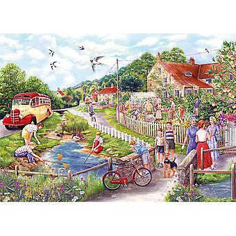 Gibsons Summer by the Stream Jigsaw Puzzle (1000 pieces)