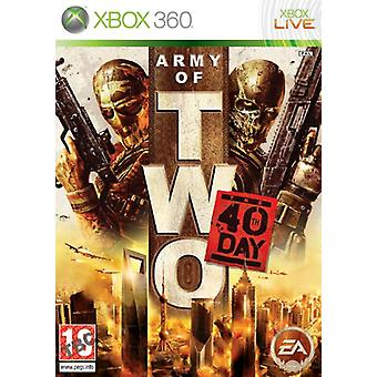 Army of Two den 40 års dag (Xbox 360)-ny