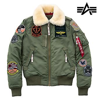 Alpha Industries Damska kurtka zimowa Injector III Patch