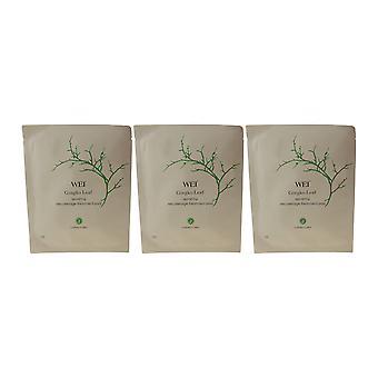 Wei kauneus Gingko Leaf korjaus Decolletage hoito tyynyt (kpl pakkaus 3)
