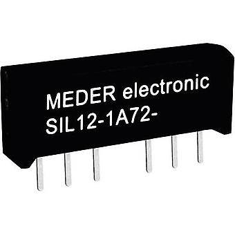 StandexMeder Electronics SIL05-1A72-71D Reed relay 1 maker 5 V DC 0.5 A 10 W SIL 4